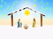 Nativity scene Royalty Free Stock Photography
