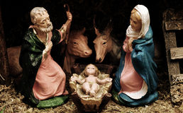 Nativity scene Royalty Free Stock Photos