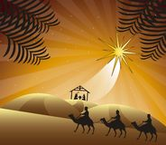 Nativity scene royalty free stock photo