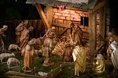 Free Nativity Scene Royalty Free Stock Images - 3771429