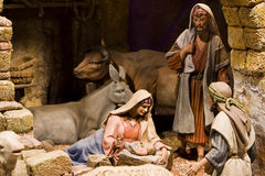 Nativity scene Royalty Free Stock Images