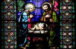 The Nativity scene Royalty Free Stock Photos