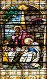 Nativity Scene, Birth of Jesus Stock Image