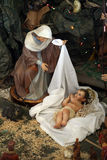 Nativity scene, Capernaum Royalty Free Stock Photography