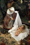 Nativity scene, Capernaum Royalty Free Stock Photography