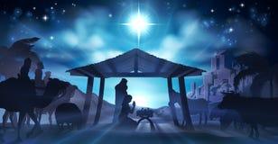 Nativity Scene Christmas Stock Photos
