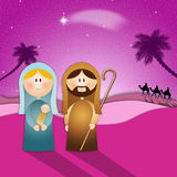 Nativity scene for Christmas Royalty Free Stock Photos