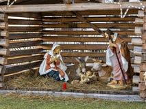 Nativity scene royalty free stock image