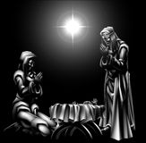 Nativity Scene Christmas Royalty Free Stock Images
