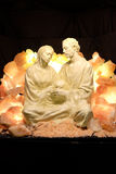 Nativity scene. Creche or crib, is a depiction of the birth of Jesus, Hallein, Austria Stock Photography
