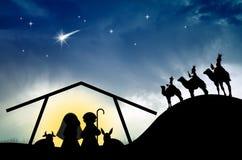Nativity scene Stock Photo