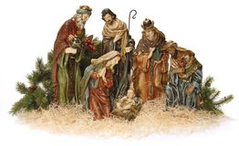 Nativity scene. stock photography