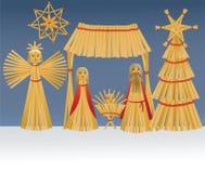 Nativity scene with Holy Family Royalty Free Stock Photos