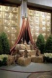 Nativity scene inside Saint John Divine Church Royalty Free Stock Images