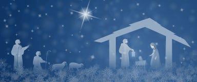 Christmas time - Nativity scene Royalty Free Stock Photo
