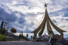 Nativity Scene Mount - Aparecida - Brazil Royalty Free Stock Photography