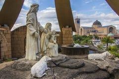 Nativity Scene Mount - Aparecida - Brazil Stock Photos