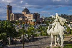 Nativity Scene Mount - Aparecida - Brazil Royalty Free Stock Photos