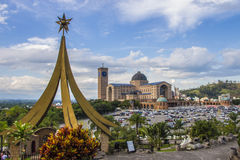 Nativity Scene Mount - Aparecida - Brazil Stock Photo
