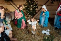 Nativity scene, Munich Royalty Free Stock Images