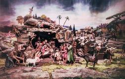 A nativity scene stock photography