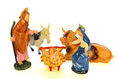 Nativity scene (presepe) Stock Photography