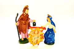 Nativity scene (presepe) Stock Photo