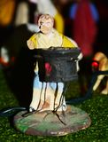 Nativity scene, prophet royalty free stock photos