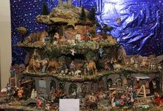 Nativity scene. The timeless appeal of traditional Italian Nativity Royalty Free Stock Photo