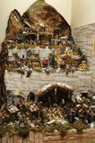 Nativity scene. The timeless appeal of traditional Italian Nativity Royalty Free Stock Image