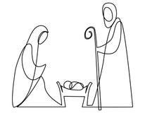 Free Nativity Scene With Holy Family Stock Photography - 101007662