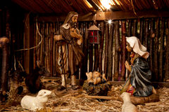 Nativity Scene Stock Images
