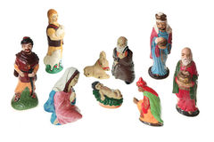 Nativity scene - XXL Royalty Free Stock Photos