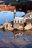 Nativity scene in Yaiza Royalty Free Stock Images