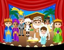 Nativity_schoolplay Royalty Free Stock Photos