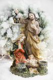 Nativity Statuette Royalty Free Stock Photo