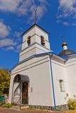 Nativity of the Theotokos church (1836). Osechenki, Russia Stock Image