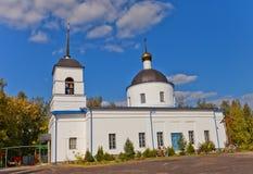 Nativity of the Theotokos church (1836). Osechenki, Russia Stock Photos