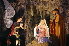 Nativity in tlalpujahua II Royalty Free Stock Image