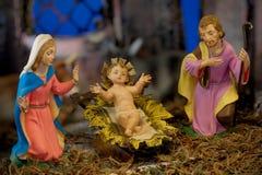 Nativity van Kerstmis Royalty-vrije Stock Afbeeldingen