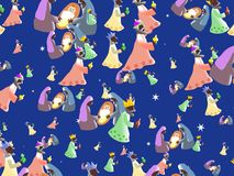 Nativity wallpaper Royalty Free Stock Photo
