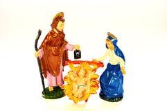 nativitypresepeplats Arkivfoto
