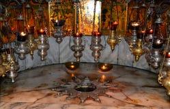 nativitysilverstjärna Royaltyfri Fotografi