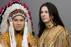 Nativo americano Imagen de archivo libre de regalías