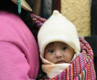 Nativo americano do Peru Fotografia de Stock Royalty Free