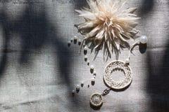 Nativo americano Dreamcatcher Fotografia Stock Libera da Diritti