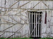 Nativo americano Longhouse Foto de archivo