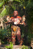 Nativo americano na selva Imagens de Stock Royalty Free