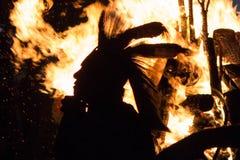 Nativo americano 2015 PRISIONERO de guerra-wow Imágenes de archivo libres de regalías