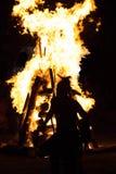 Nativo americano 2015 PRISIONERO de guerra-wow Foto de archivo libre de regalías